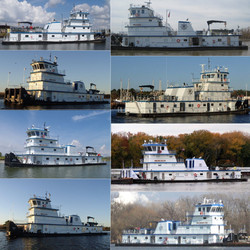 120' FMT River Tow Boats