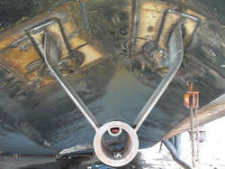 Shaft Support For Pushboats
