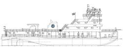 180' River Towboat