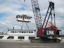 Pecore Ferry Wheelhouse