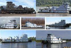 140' FMT River Tow Boats