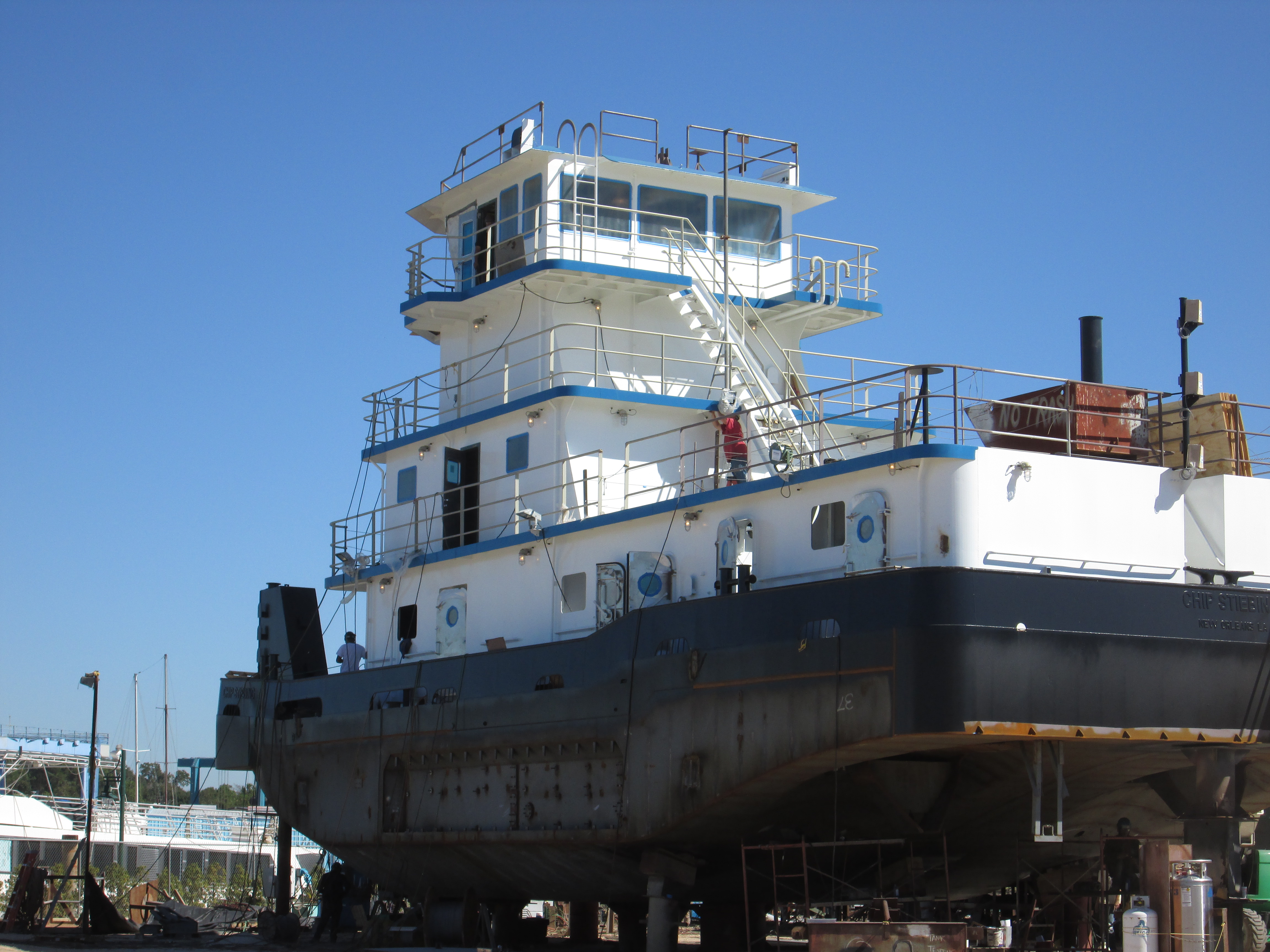 80' River Towboat