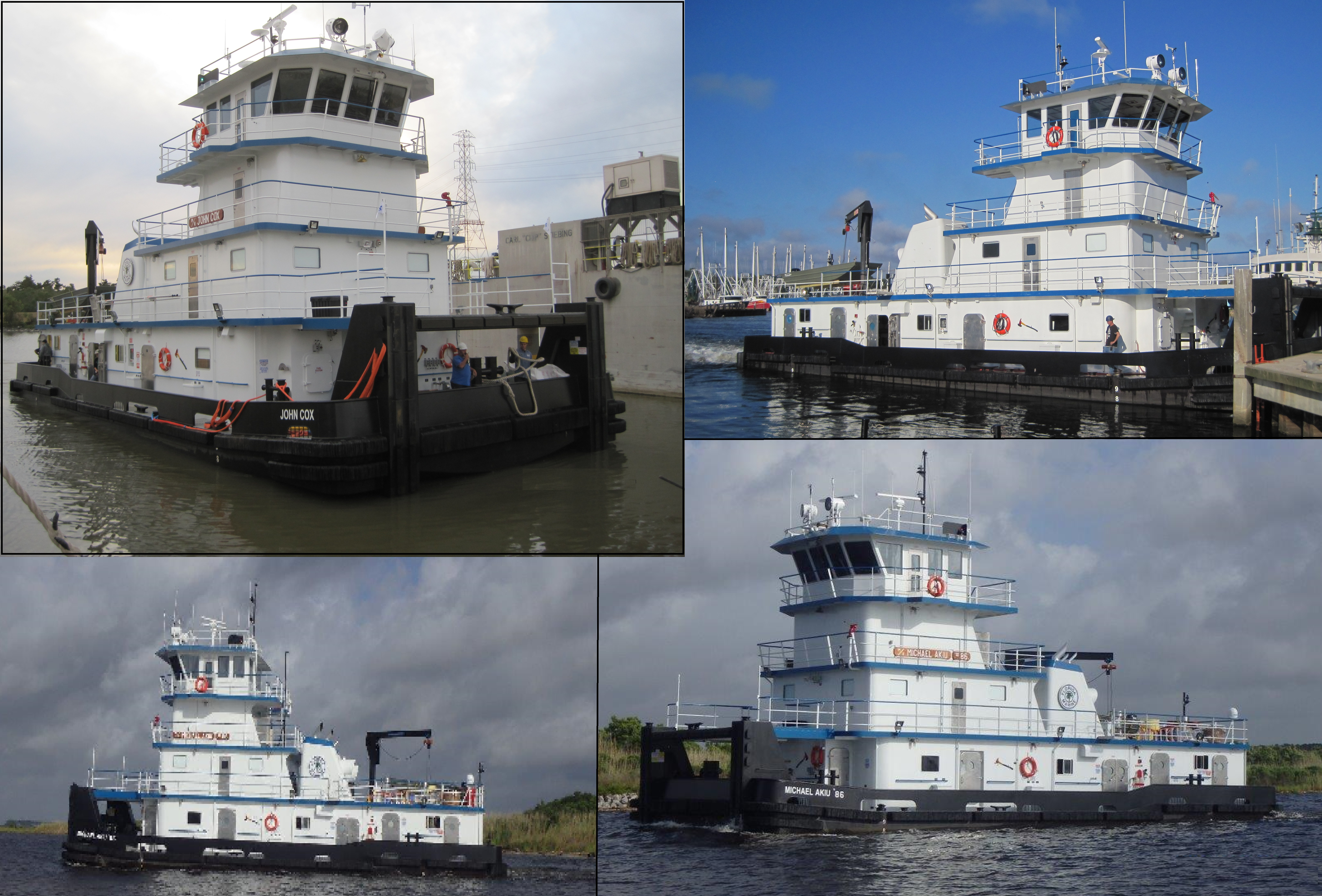 80' FMT Tow Boats