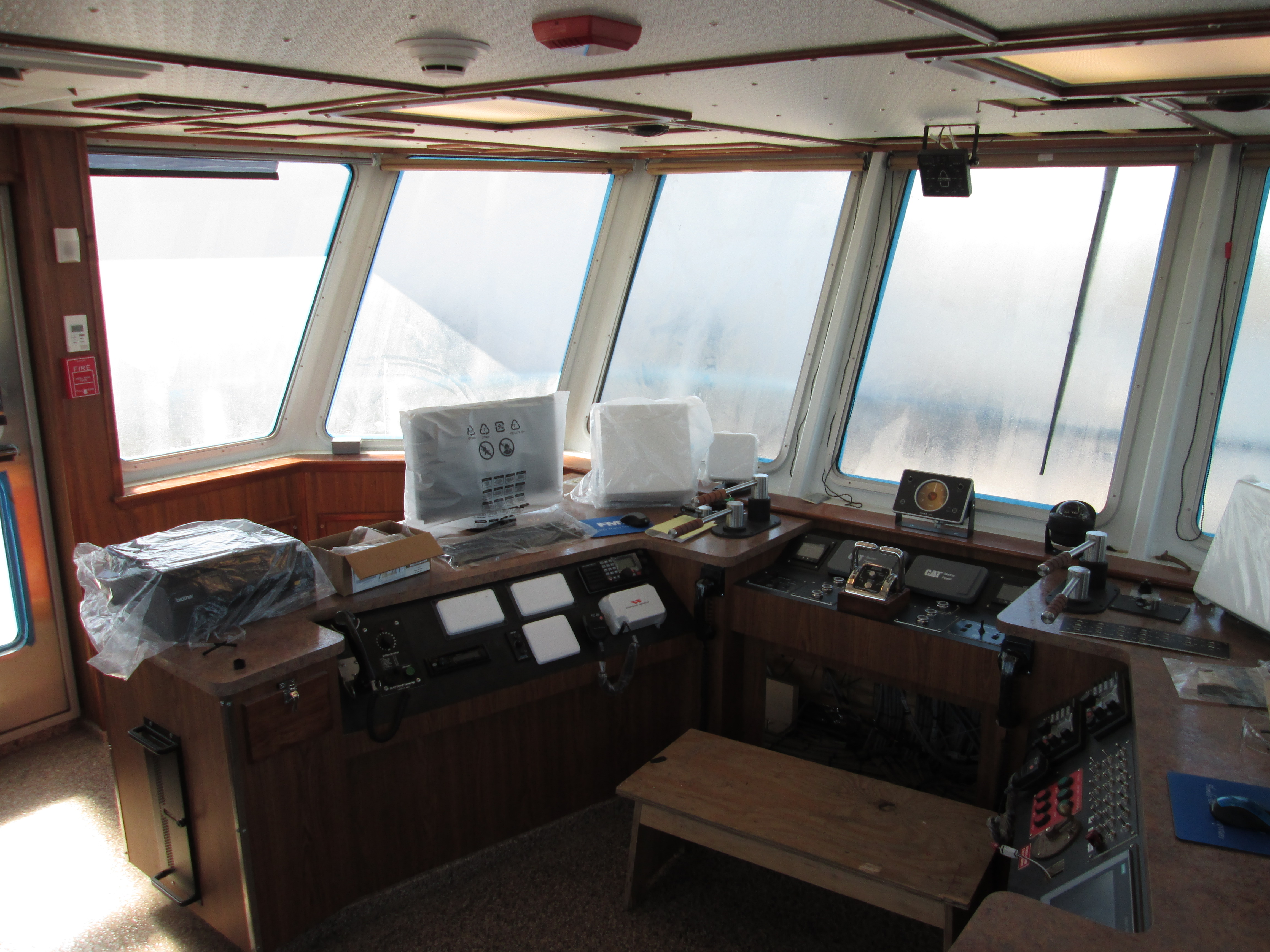 120' Towboat Wheelhouse