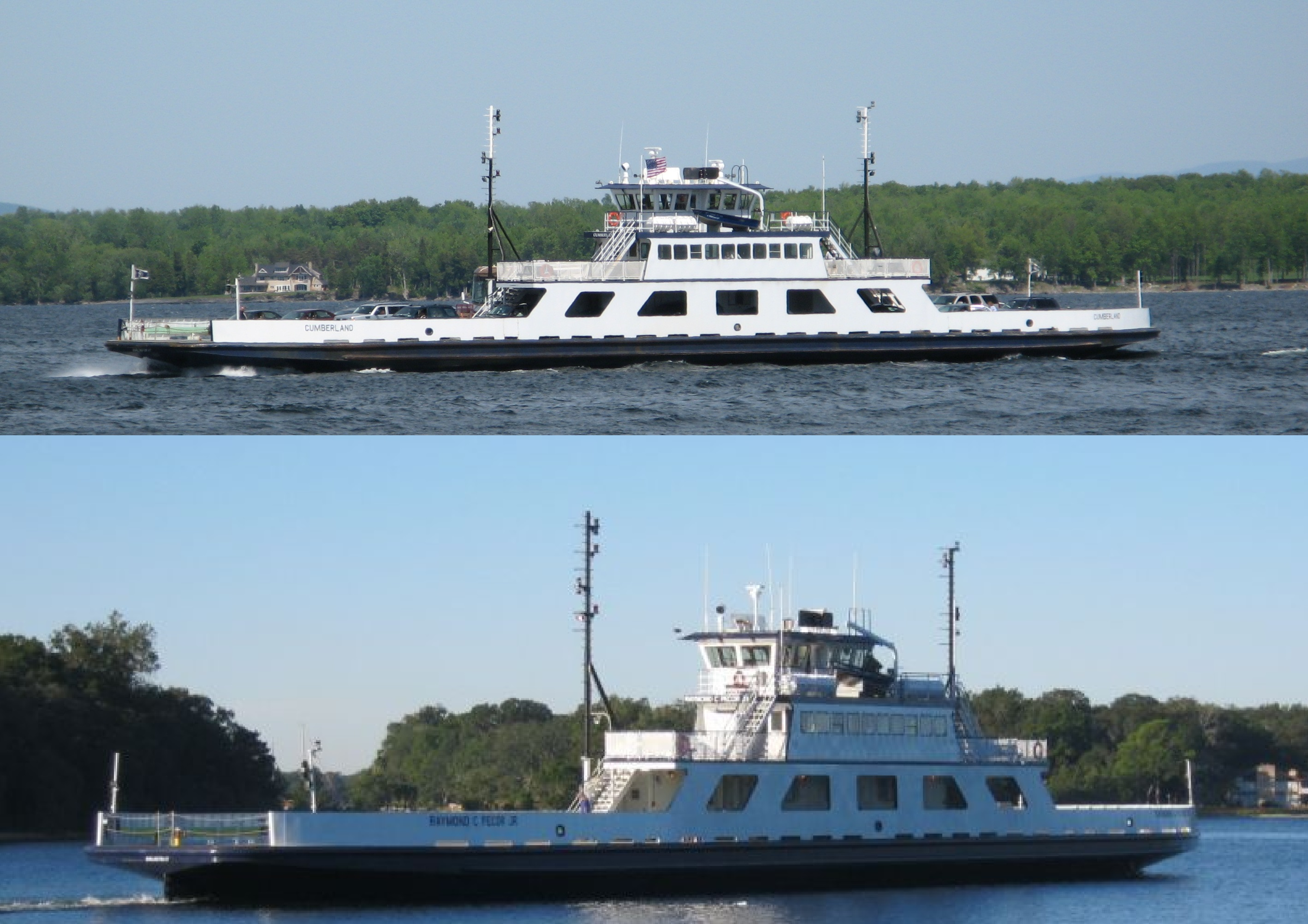 216' Passenger Vehicle Ferry