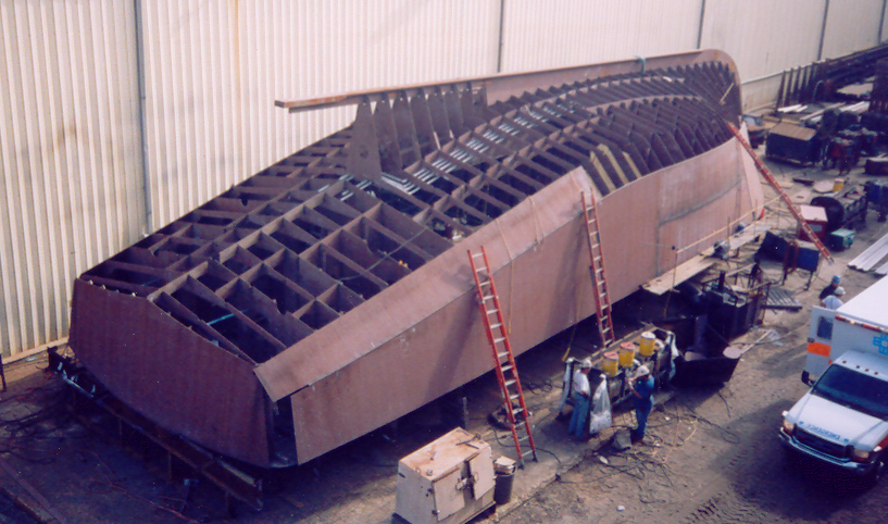 93' Scalloper Hull