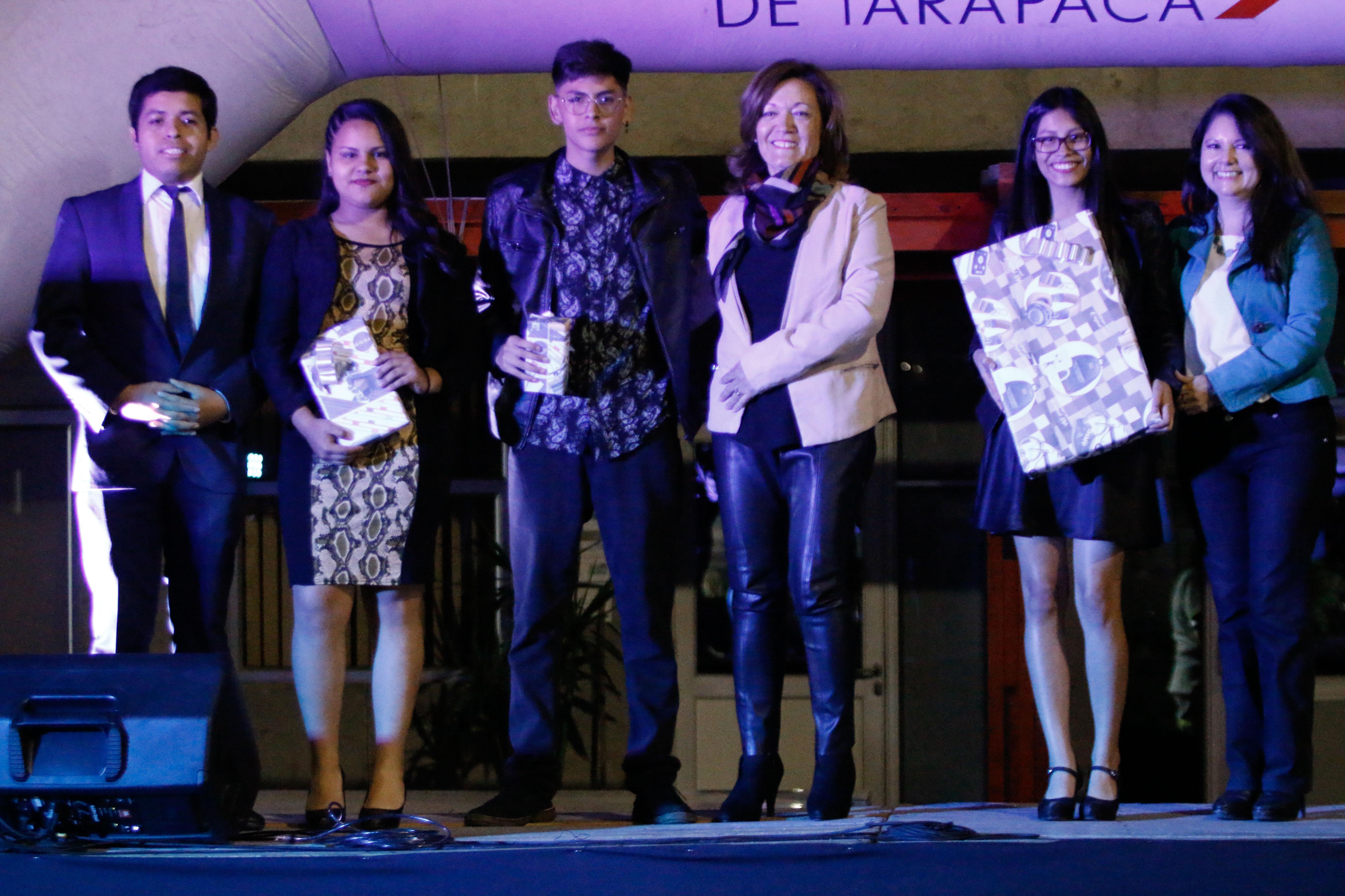 ganadores del festival tercero, segundo