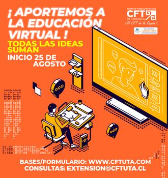 Aportando ideas para fortalecer la educación virtual