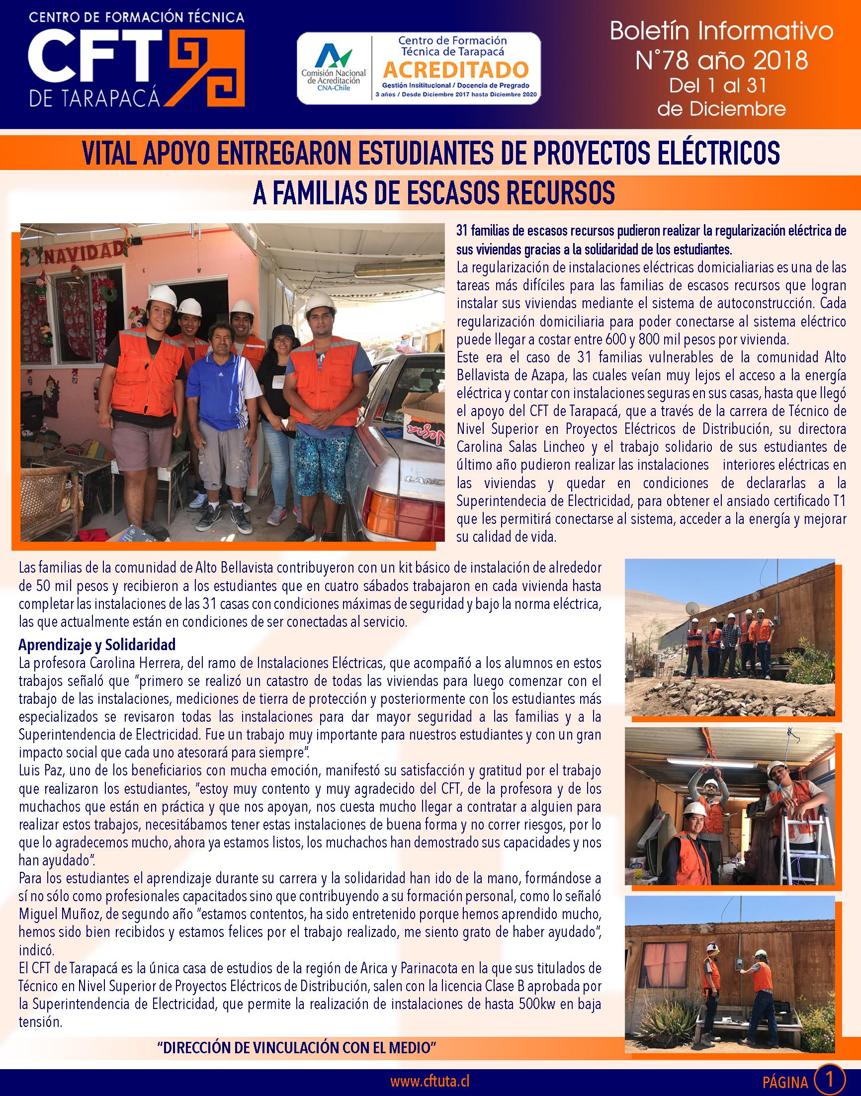 Boletín N°78 CFT de Tarapacá1