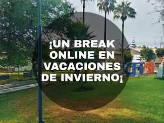 ¡Un Break online en estas vacaciones de invierno¡
