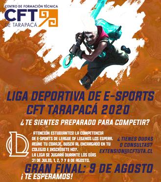 Se parte de la 1 era Versión de la Liga Deportiva Electrónica de la League of Legends
