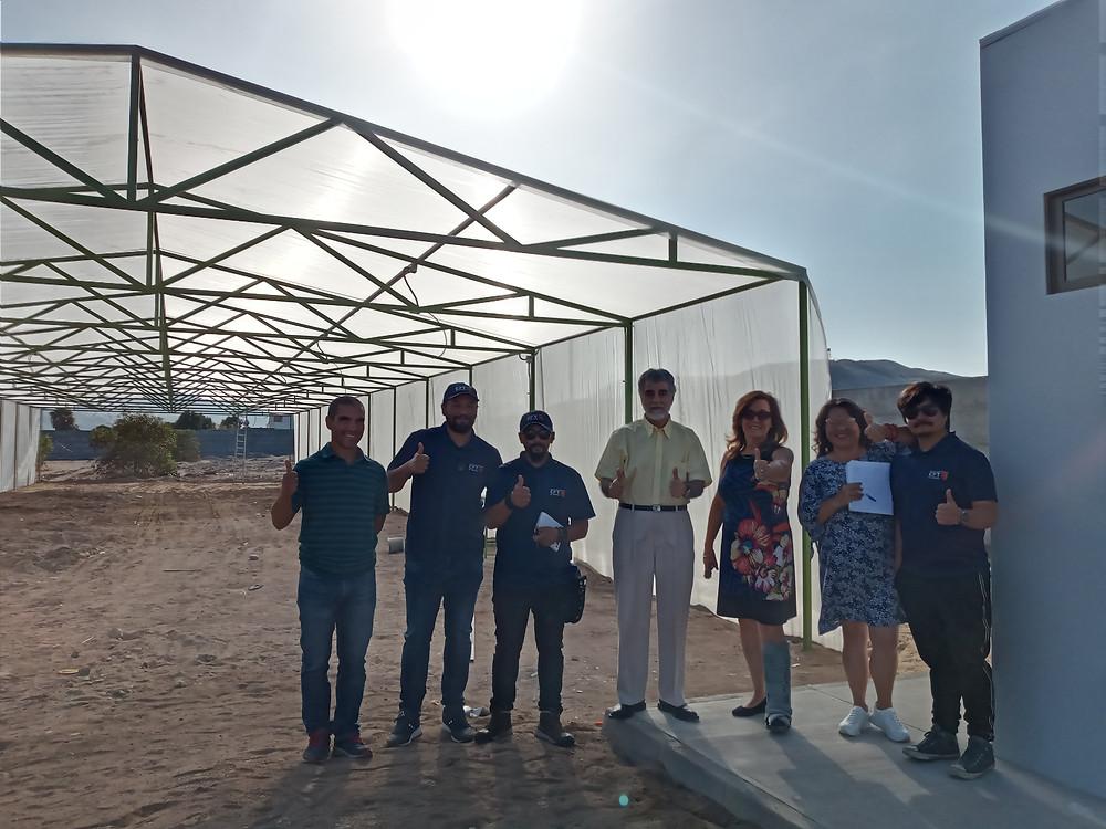 Visita al Centro Agrícola Alto Ramirez