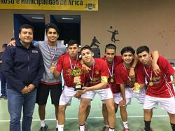 primer lugar varones Liceo Antonio de Va