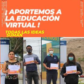 Cuatro proyectos fueron premiados por su aporte a la educación virtual