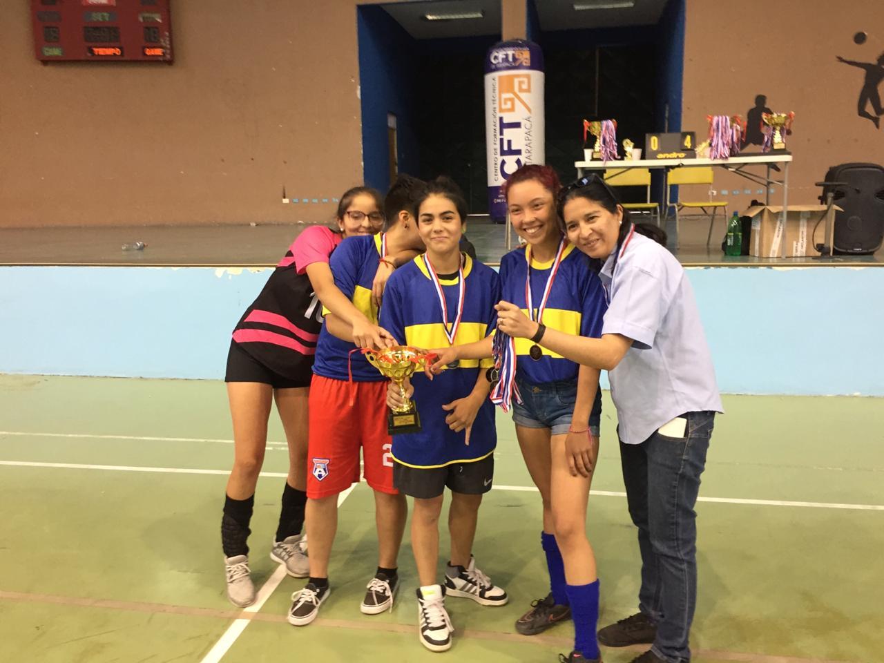 tercer lugar damaas Liceo Antonio Varas