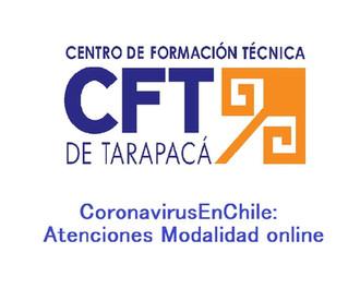 CoronavirusEnChile: Atenciones Modalidad online