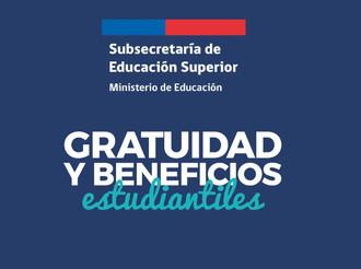 Informativo de asignación de beneficios estudiantiles