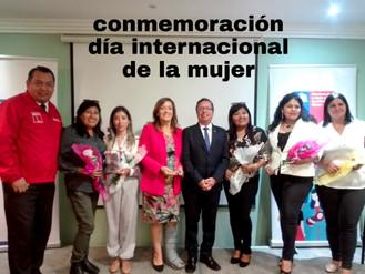 Conmemoración del Día de la Mujer puso énfasis en trabajadoras mineras