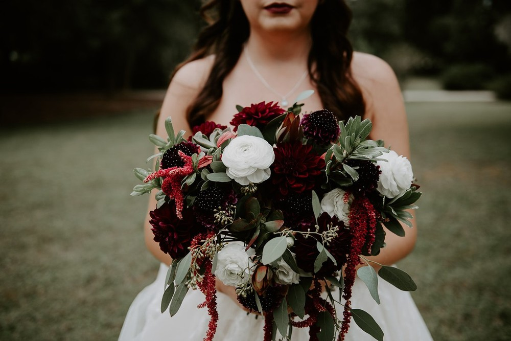 Burgundy Bridal