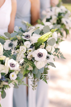 White Anemone Bridesmaids