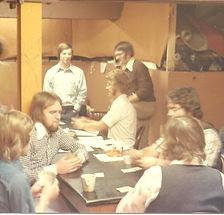 1974 Ore Gangue basement coffee room; L-