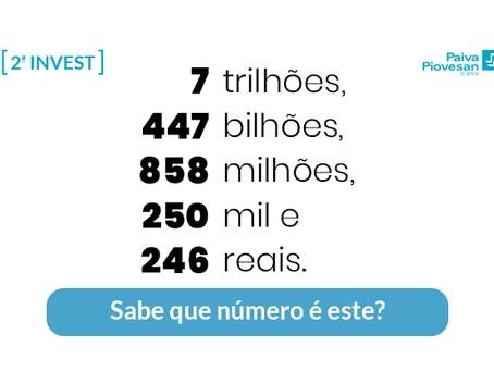 Descubra os grandes números da economia brasileira.