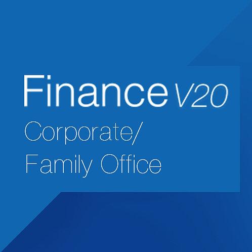 Finance V20 Corporate/Family Office