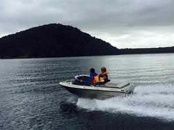 Rock Family Boating