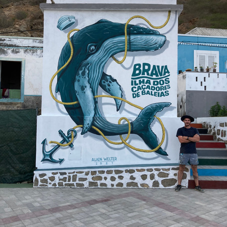 Artist residency in Cape Verde