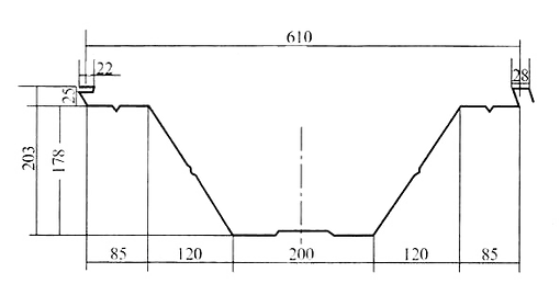 perfil maquina roladora arcotecho
