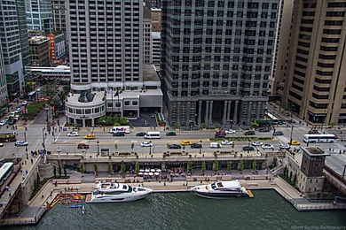 Aerial View of Downtown Docks