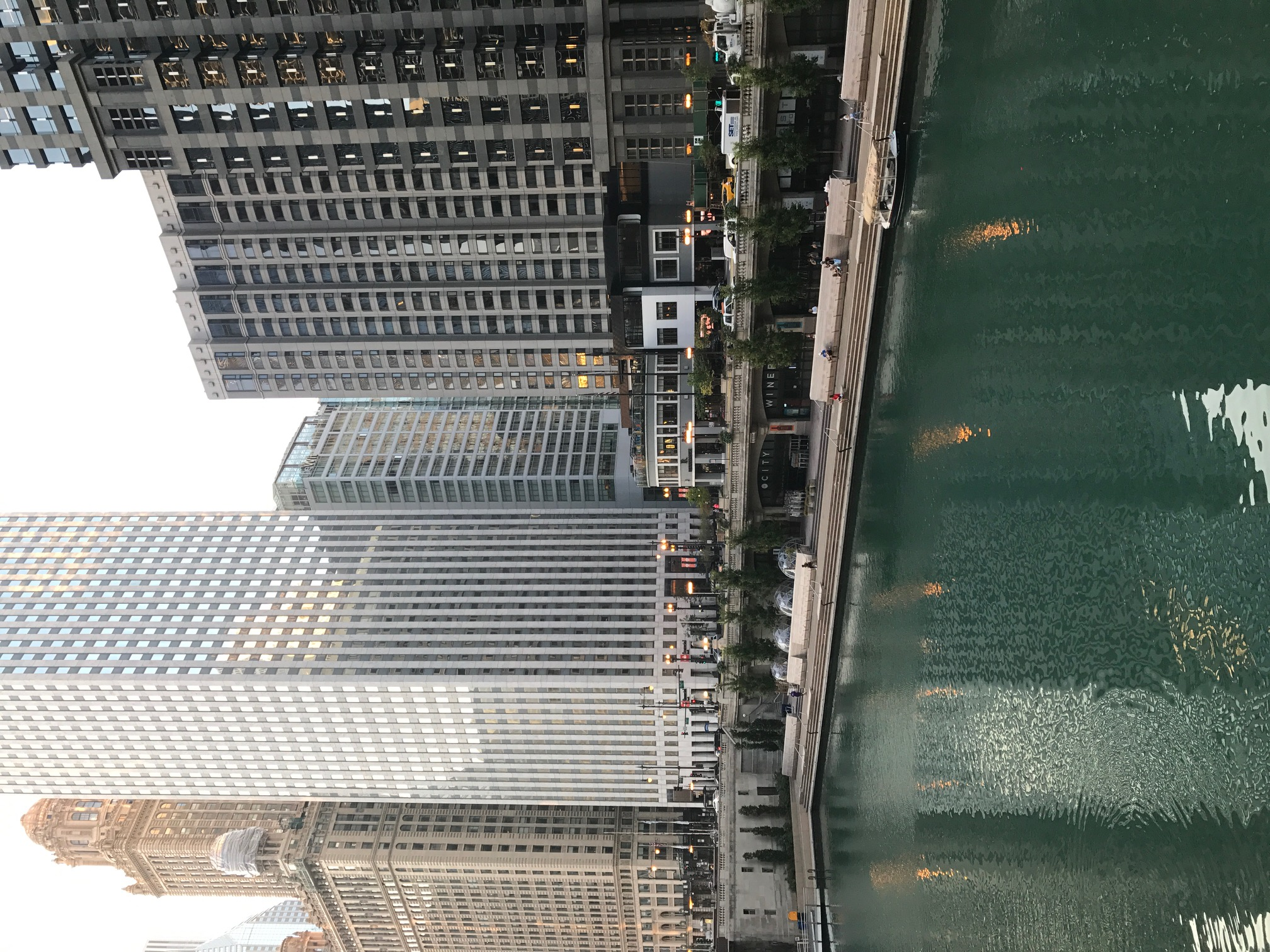 Quiet Morning on the Chicago River