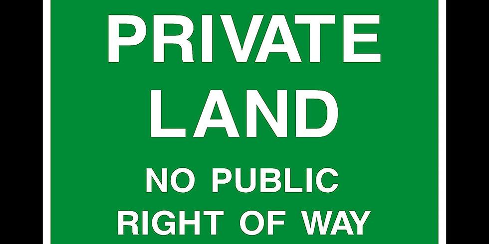 Survey of a private reserve - Billingham