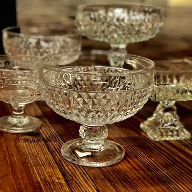 GLASS FLORAL CONTAINERS