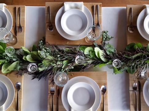 White Dinner & Salad Plates