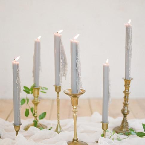 Brass Candlesticks  $1.50 each