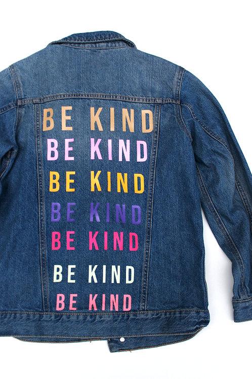 Colourful Be Kind Denim Jacket