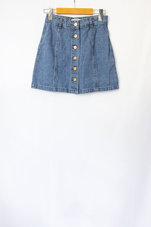 F21 Denim Skirt (S)