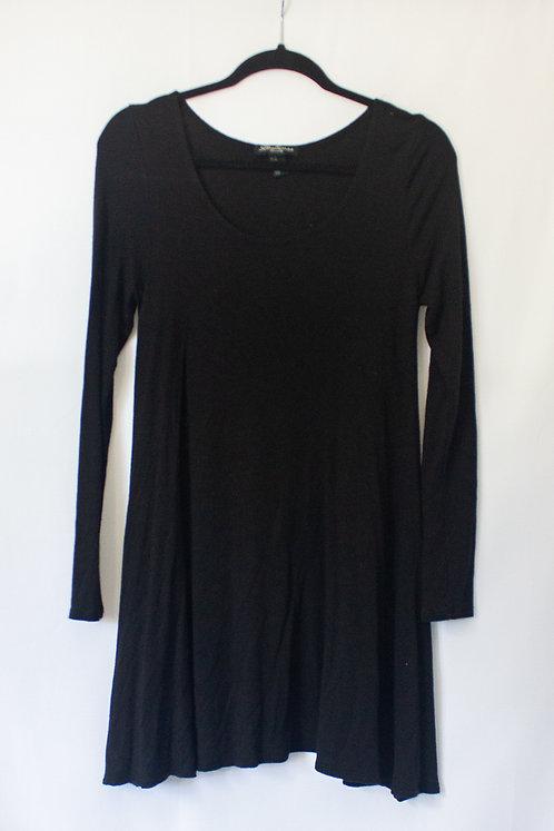 Black Flowy Dress (M)