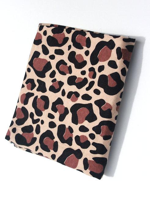 Cheetah Receiving Blanket