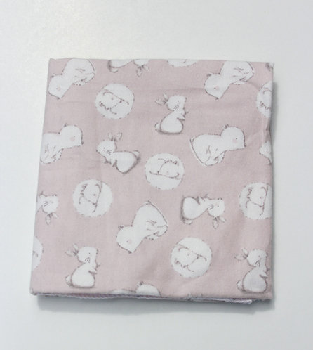 Bunnies & Bears Receiving Blanket