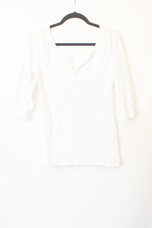 White Streetwear Shirt (L)