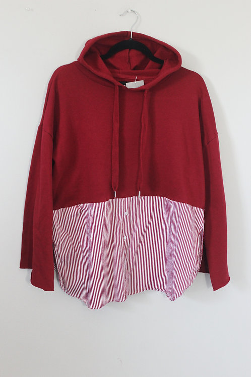 Button Up Hoodie