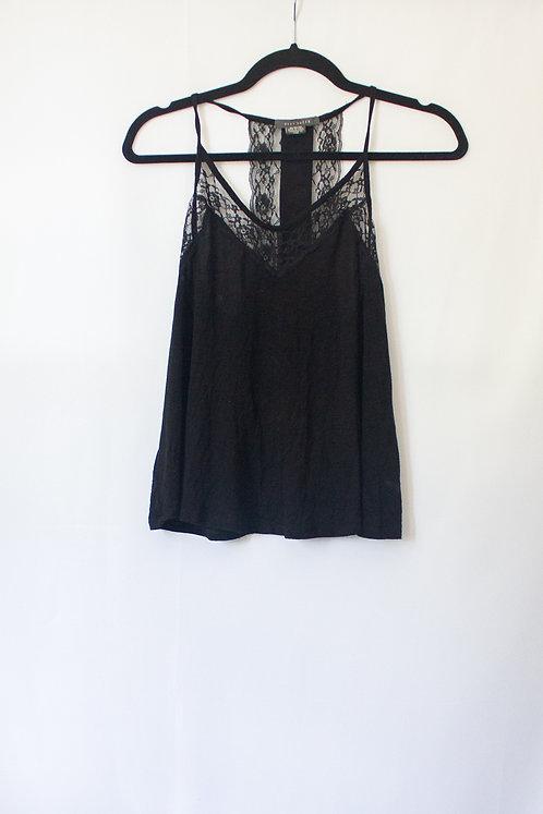 Black Lace Tank (M)