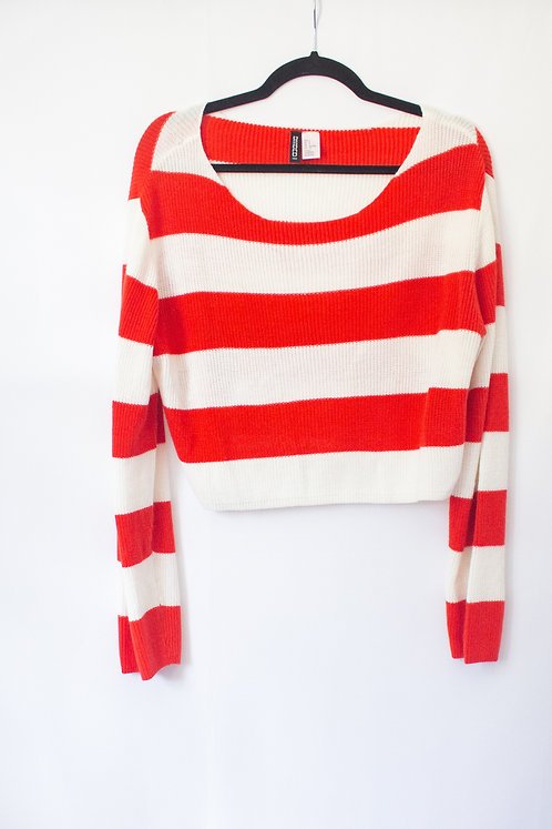 Stripe Sweater/Top (S)