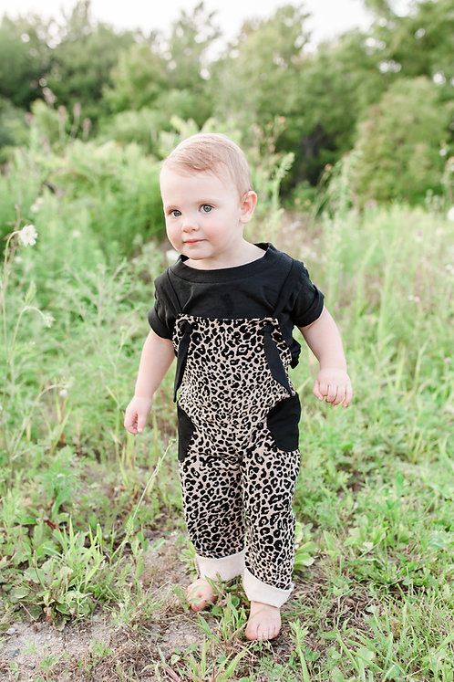 The Odette Overalls - Cheetah