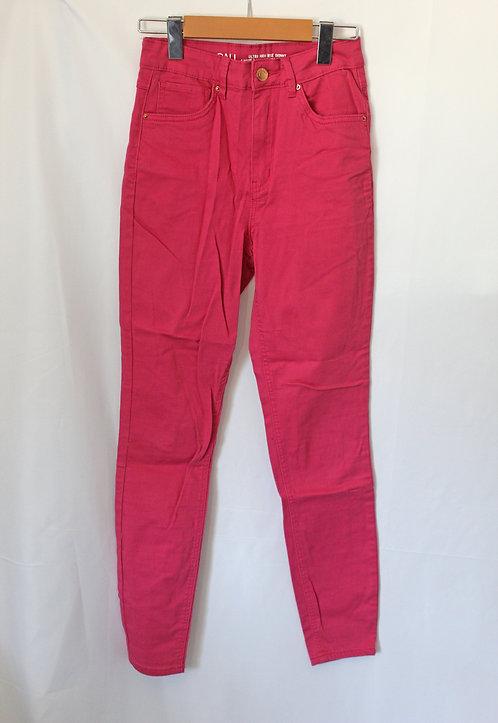 Hot Pink High Waisted Skinnies (7)