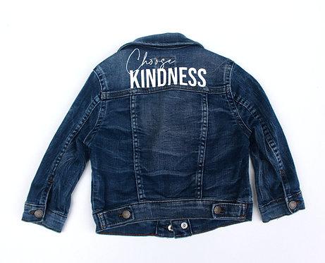 Choose Kindness Denim Jacket