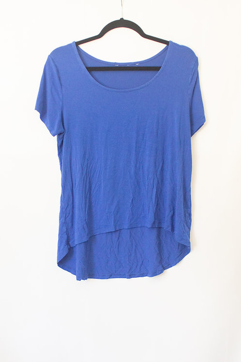 Blue High-Low Tee (L)