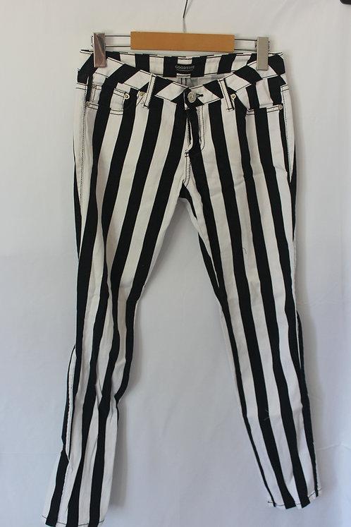 B&W Stripe Pants (5/7)